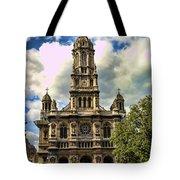 Paris Church Tote Bag