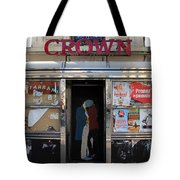 Paris Diner Tote Bag