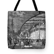 Paris: Exposition Of 1867 Tote Bag