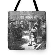 Paris: Fish Market Auction Tote Bag