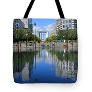 Paris La Defense 3 Tote Bag