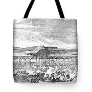 Paris: Les Halles, 1858 Tote Bag
