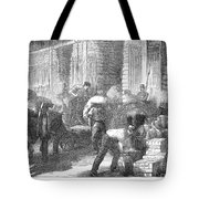Paris: Les Halles, 1870 Tote Bag