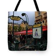 Paris Metro 1 Tote Bag