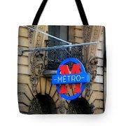 Paris Metro 5 Tote Bag