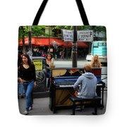 Paris Musicians 2 Tote Bag