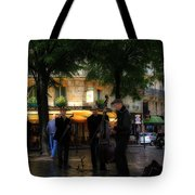 Paris Musicians Tote Bag