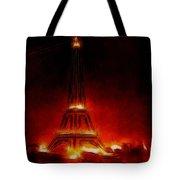 Paris Nights Tote Bag
