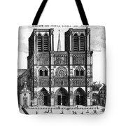 Paris: Notre Dame, 1600s Tote Bag