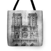 Paris: Notre Dame, 1848 Tote Bag