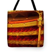 Paris Opera House Iv   Box Seats Tote Bag