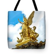 Paris Opera House Vi  Exterior Facade Tote Bag