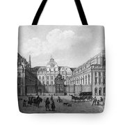 Paris: Palais De Justice Tote Bag