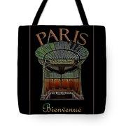Paris Poster Art 1 Tote Bag