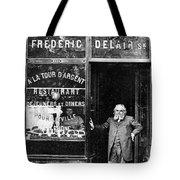 Paris: Restaurant, 1890s Tote Bag