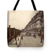 Paris: Rue De Rivoli, C1900 Tote Bag