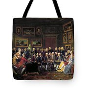 Paris: Salon, 1755 Tote Bag