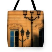 Paris Shadows Tote Bag