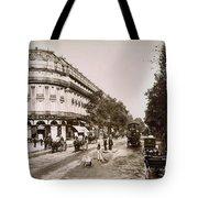 Paris: Street Scene, 1890 Tote Bag