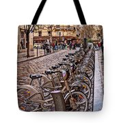 Paris Wheels For Rent Tote Bag