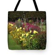 Parisian Park Morning Garden Tote Bag