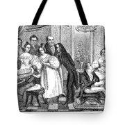 Parisian Salon Tote Bag