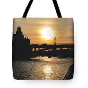 Parisian Sunset Tote Bag