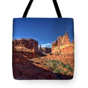 Park Avenue 1 Arches National Park Tote Bag