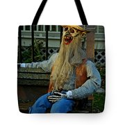 Park Bench Ghoul Tote Bag