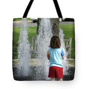 Childhood Waterpark Dreams Tote Bag
