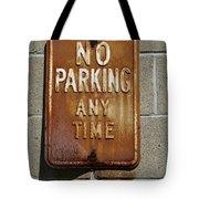Park Here Tote Bag by Luke Moore