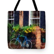 Parked Bicycle Tote Bag