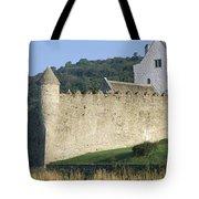 Parkes Castle,co Sligo,irelandpanoramic Tote Bag