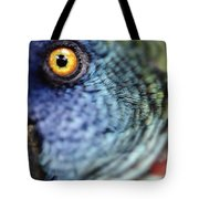 Parrot, Close Up Tote Bag