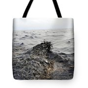 Part Of An Oil Slick In The Gulf Tote Bag