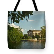 Parthenon At Nashville Tennessee 10 Tote Bag by Douglas Barnett