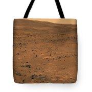 Partial Seminole Panorama Of Mars Tote Bag