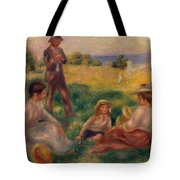 Party In The Country At Berneval Tote Bag