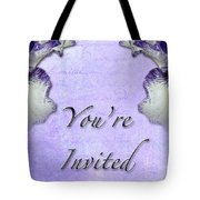 Party Invitation - General - Wild Iris - Blue Flag Tote Bag