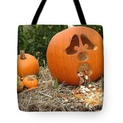 Party Pumpkin Tote Bag