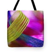 Party Ribbons Tote Bag by Judi Bagwell