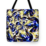 Party Time Abstract Tote Bag