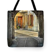 Passageway And Arch In Provence Tote Bag