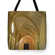Passageway In A Monastery  Tote Bag