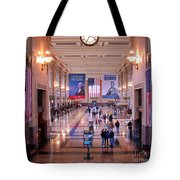 Passengers And Flags Tote Bag