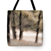Passing By Trees Tote Bag