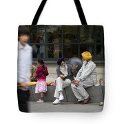 Passing Conversation Tote Bag