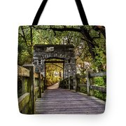 Passing Over Into The Light Tote Bag