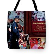 Passing Plaza Police Tote Bag