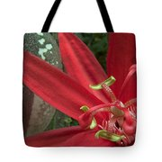 Passion Flower Blossom Costa Rica Tote Bag